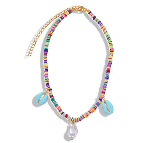 Fashion creative shell beads necklace NHJQ139096's discount tags