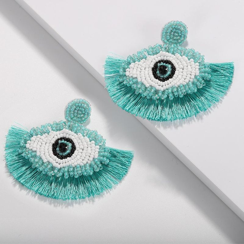 Fashion Eyes Beizhu Tassel Earrings NHJQ139134
