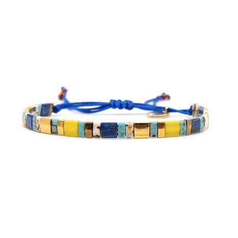 European and American Bohemian seaside beach couple woven bracelet NHGW139143's discount tags
