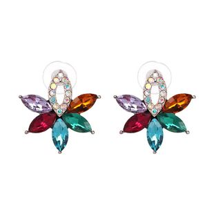 Korean version of the small fresh flower earrings NHJJ139149's discount tags