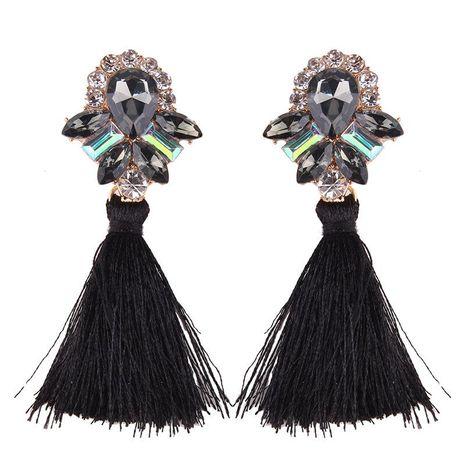 Trendy minimalist pop tassel earrings NHJQ139213's discount tags