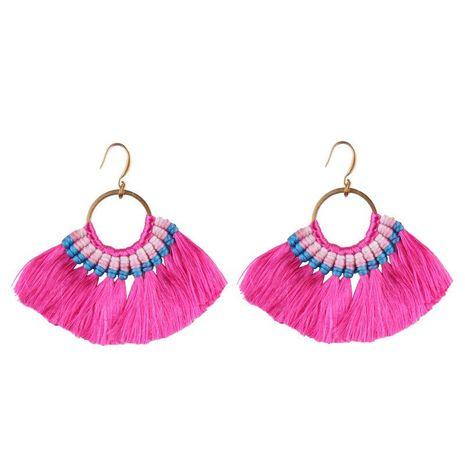 Explosive simple tassel earrings NHJQ139229's discount tags