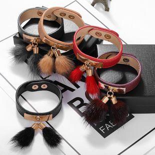 Temperament wild alloy fabric bracelet NHJQ139243's discount tags
