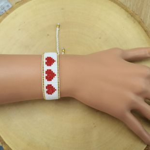 Love friendship rope hand-woven bracelet NHGW139244's discount tags