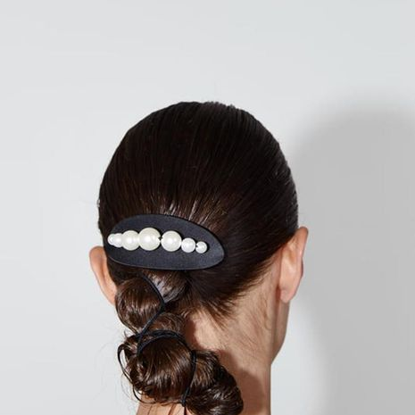 Pince à cheveux perles de vacances décontractées mode NHJQ139246's discount tags