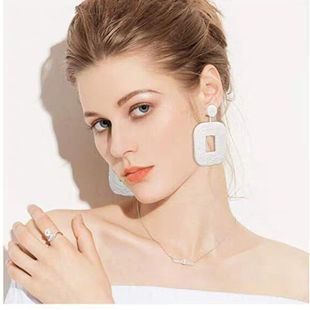 Womens Geometric Beads Earrings NHJQ139263's discount tags