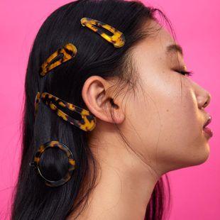Womens Geometry Acrylic Acid Sheet Hair Accessories NHJQ139264's discount tags