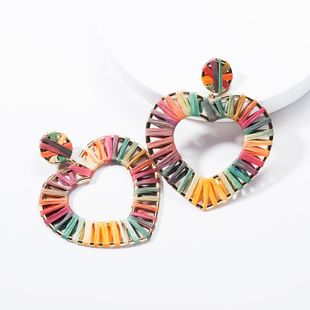 Love Heart Shaped Lafite Earrings NHJE139273's discount tags