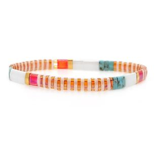 Womens Square miyuki tila beads Bracelets & Bangles NHGW139285's discount tags