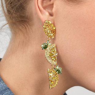 Fashion Rhinestone Gemstone Series Earrings NHJQ139298's discount tags