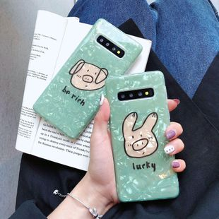 Cartoon Pig Samsung Phone Case NHDV139319 For Samsung's discount tags