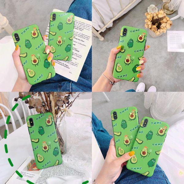 Cute Avocado Scrub Huawei iPhone Phone Case NHDV139342 For iphone