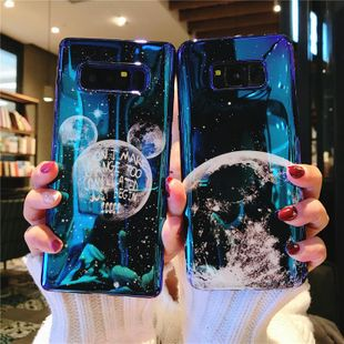 Cartoon Mickey Blue Planet Huawei Samsung Phone Case NHDV139350 For Samsung/Huawei's discount tags