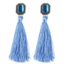 Womens geometric handwoven alloy  Earrings NHJQ139068