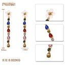 Fashion Beads Flower Imitated crystal Tassel Earrings NHJQ139133