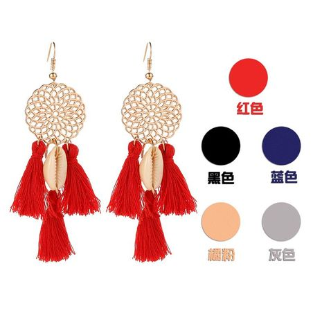 New dream catcher shell tassel earrings NHDP145114's discount tags
