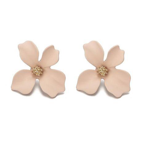 New fresh flower alloy earrings NHPF145123's discount tags