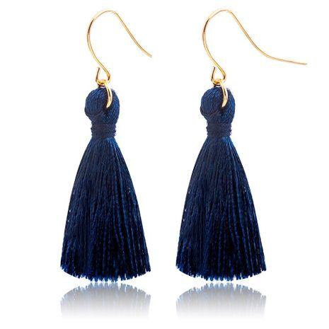 Fashion tassel hook hook earrings NHDP145126's discount tags