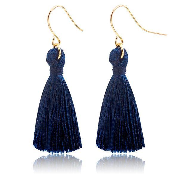Fashion tassel hook hook earrings NHDP145126