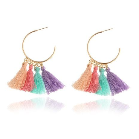 New wool tassel earrings NHPF145252's discount tags