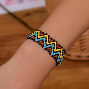 Fashion color handmade beaded bracelet NHDP145294's discount tags