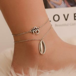 Fashion vintage seashell digital anklet NHDP145316's discount tags