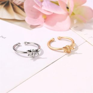 Cute fashion bee opening ring alloy alloy NHDP145325's discount tags