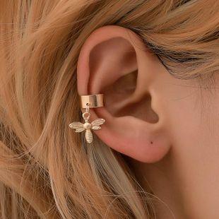 Simple U-shaped bee ear cuff clip earrings NHDP145342's discount tags