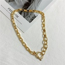 Womens geometric plating alloy Necklaces NHYQ144884