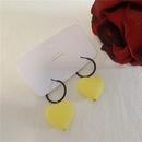 Fashion Scrub Stereo Hollow Love Earrings NHYQ145051