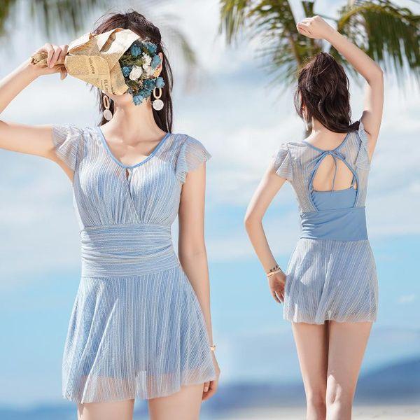 Korean small fragrance hot spring swimming bikini NHXW145497