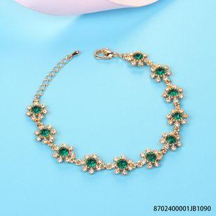 Fashion Luxury Love Tears Zircon Imitated crystal Bracelet NHLJ145868's discount tags