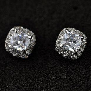 Korean version of high quality rhinestone sugar zircon earrings NHLJ145871's discount tags