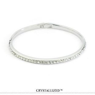 Explosion style simple temperament single ring imitated crystal bracelet NHLJ145875's discount tags