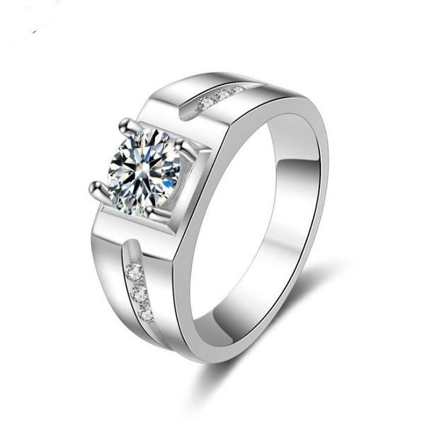 Fashion rhinestone-studded real rhinestone ring NHQL145895