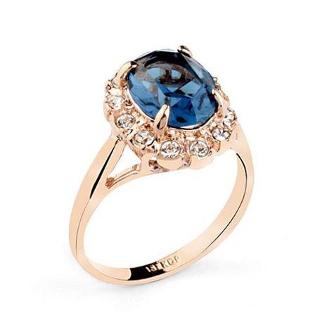 Elegante anillo vintage de circón cuadrado con tachuelas de diamantes NHLJ145912's discount tags