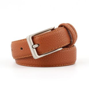 Fashion metal buckle PU women belts NHPO145939's discount tags