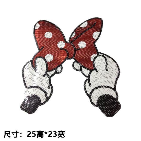 Lady temperament dot bow cloth NHLT145963
