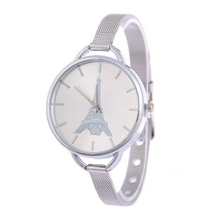 Fashion ultra-fine steel mesh belt alloy watch NHSY145971's discount tags
