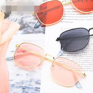 European and American trend sunglasses frame fashion sunglasses NHKD146065's discount tags