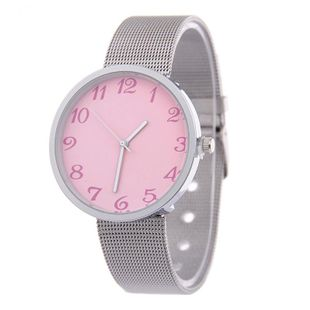 Simple face ultra-thin alloy mesh belt watch NHSY146091's discount tags