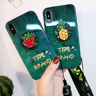 Emerald iphone7p phone case lanyard NHJP146190For iphone7p's discount tags