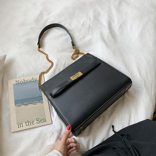 Korean version of the simple and simple versatile shoulder bag NHTC146257's discount tags
