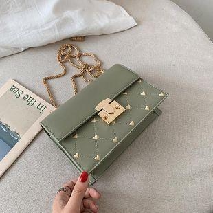 Fashion versatile embroidery line shoulder Messenger bag NHTC146340's discount tags