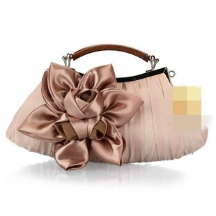 Stylish and simple flower portable evening bag NHYG146420's discount tags