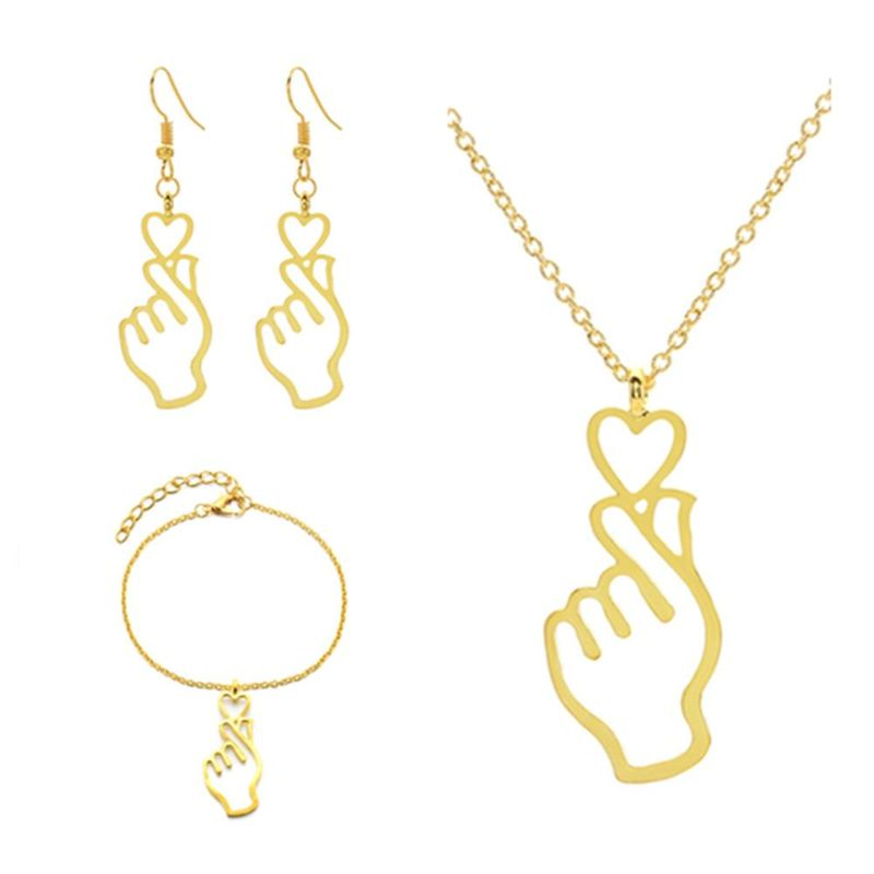 Womens Electroplated Alloy Jewelry Sets NHCU146643
