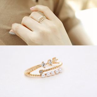 Fashion micro-set open beads zircon ring NHMS146675's discount tags