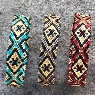Summer seaside beach simple bohemian ethnic couple bracelet NHGW146681's discount tags