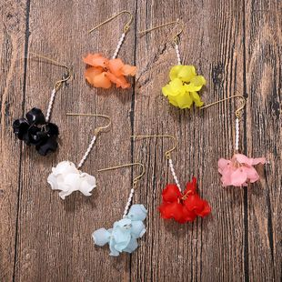 Fashion new rice beads flower earrings NHJQ146683's discount tags