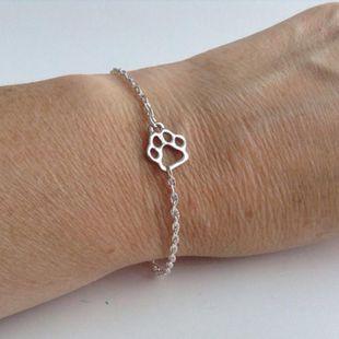 Fashion hollow cat claw dog claw bracelet NHCU146687's discount tags
